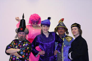 Orpen Players in 2009 pantomime