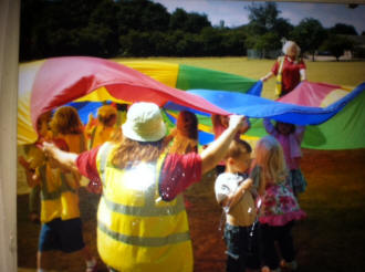 Bluebell pre-school at play
