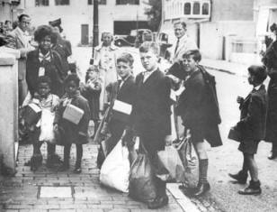 Evacuees from London
