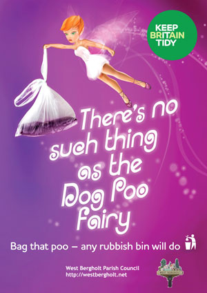 Dog poo fairy