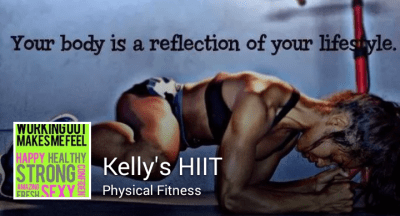 Kelly's HIIT for Physical Fitness