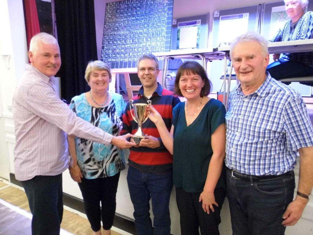The annual quiz returns - 2016 winners pictured