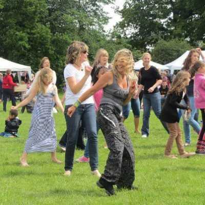 Fun at the 2012 fete
