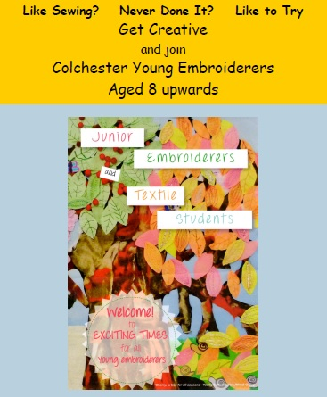 Young Embroiderers craft group