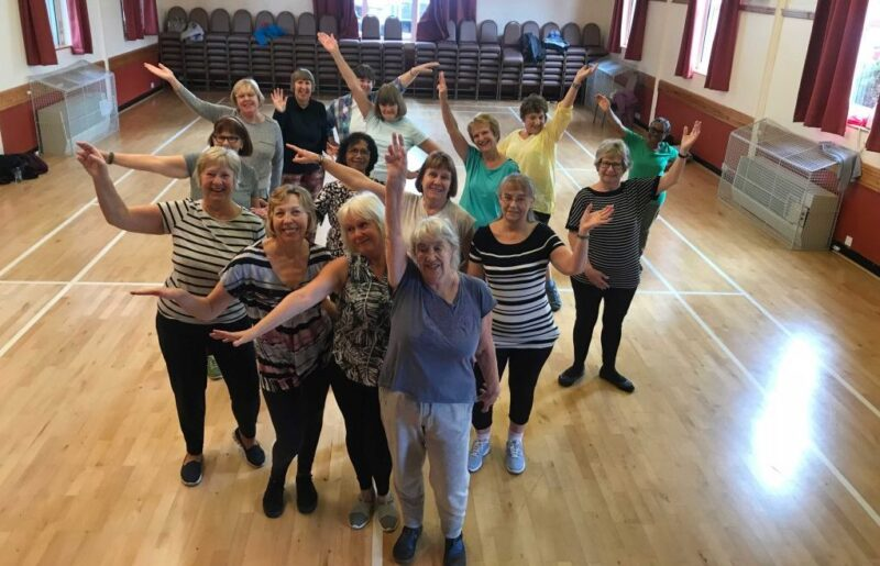Over 60s Dance4Health