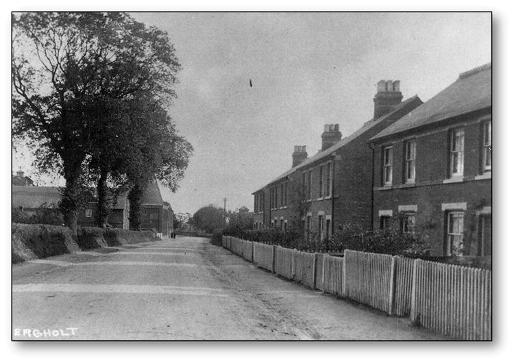 Colchester Road towards Brewery