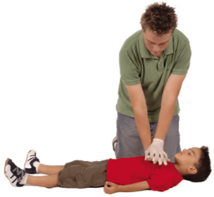 First Aid - giving CPR
