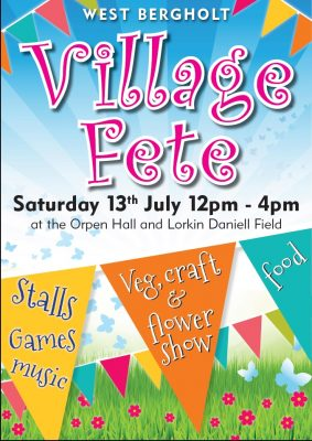 Annual Fete - 2019 Poster