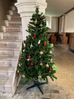 Old Church Xmas Tree