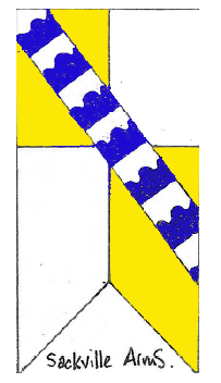 Sackville coat of arms