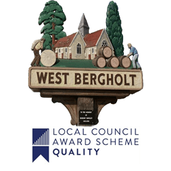 West Bergholt village sign & quality award