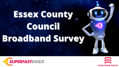 ECC Broadband Survey flyer