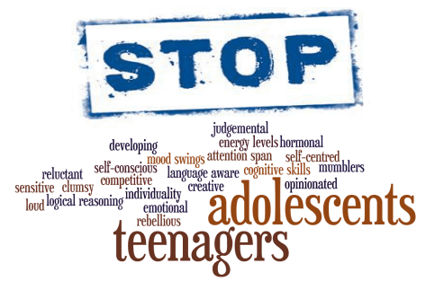 Keyword map of teenage factors considered