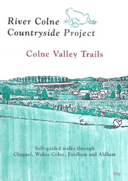 The cover of the booklet with the Miller's Drift walk